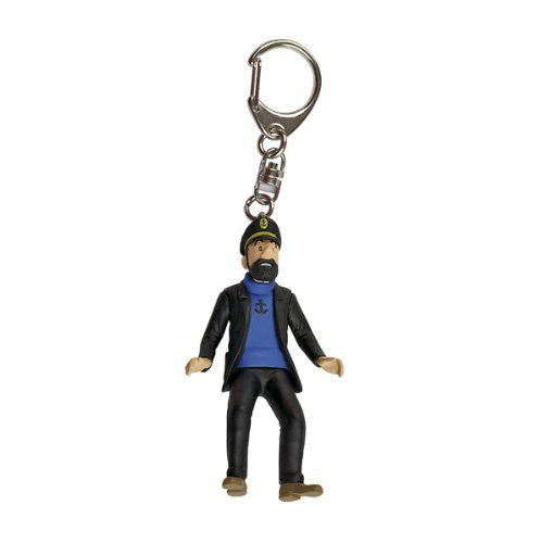 Adventures of Tintin Captain Haddock At The Car Rally Key Ring by Moulinsart -Moulinsart - India - www.superherotoystore.com