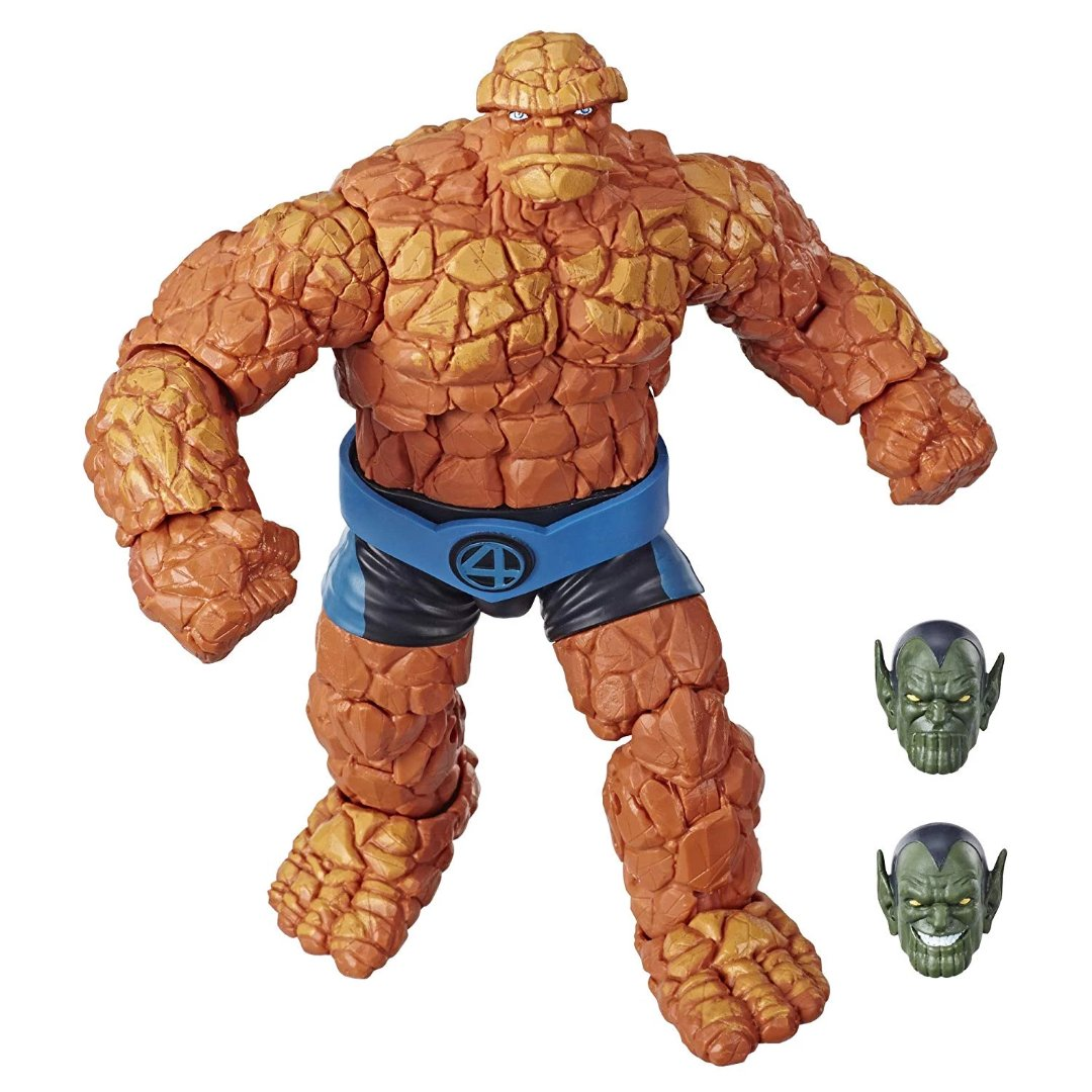 Fantastic Four Marvel Legends The Thing Figure by Hasbro