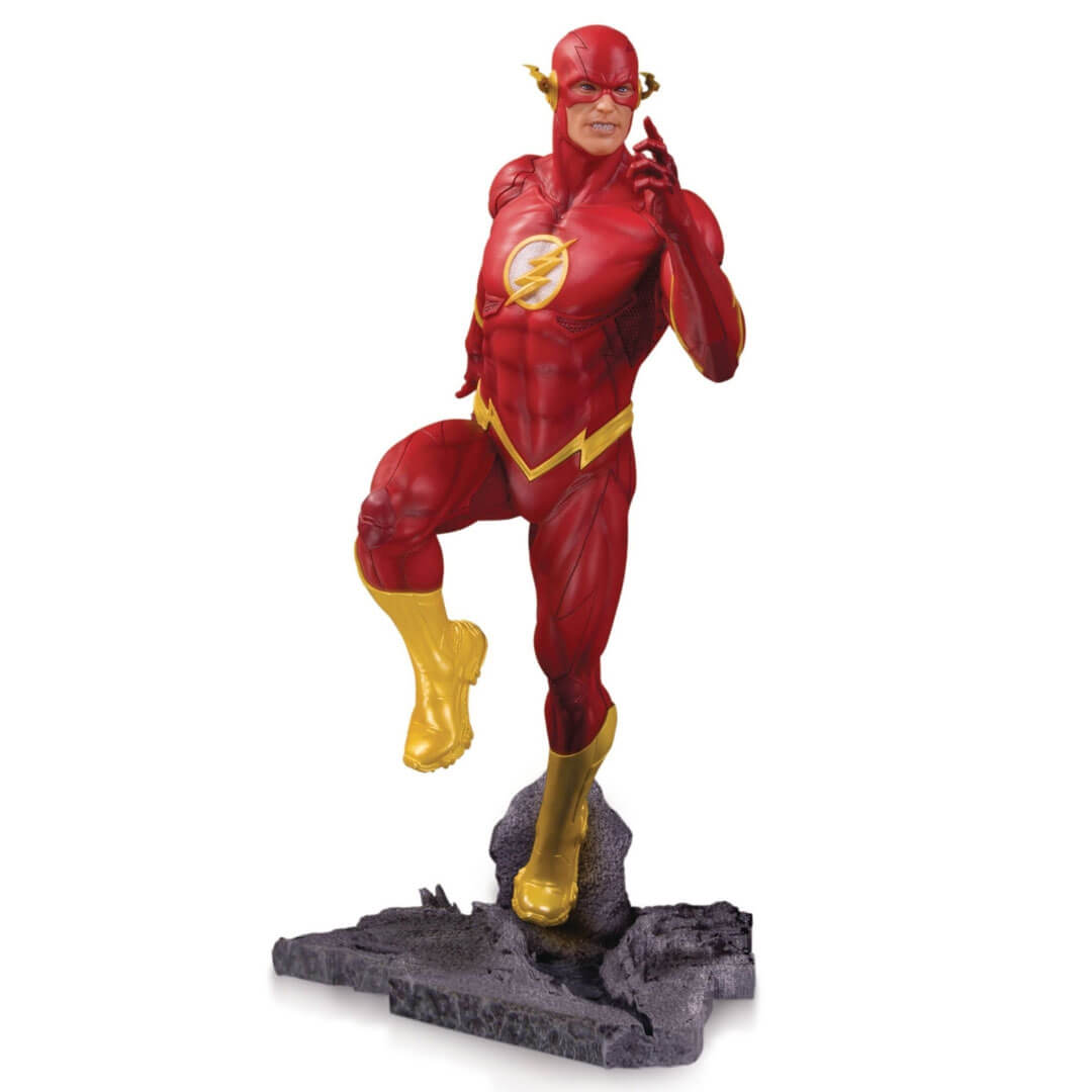 DC Core The Flash PVC Statue by DC Collectibles