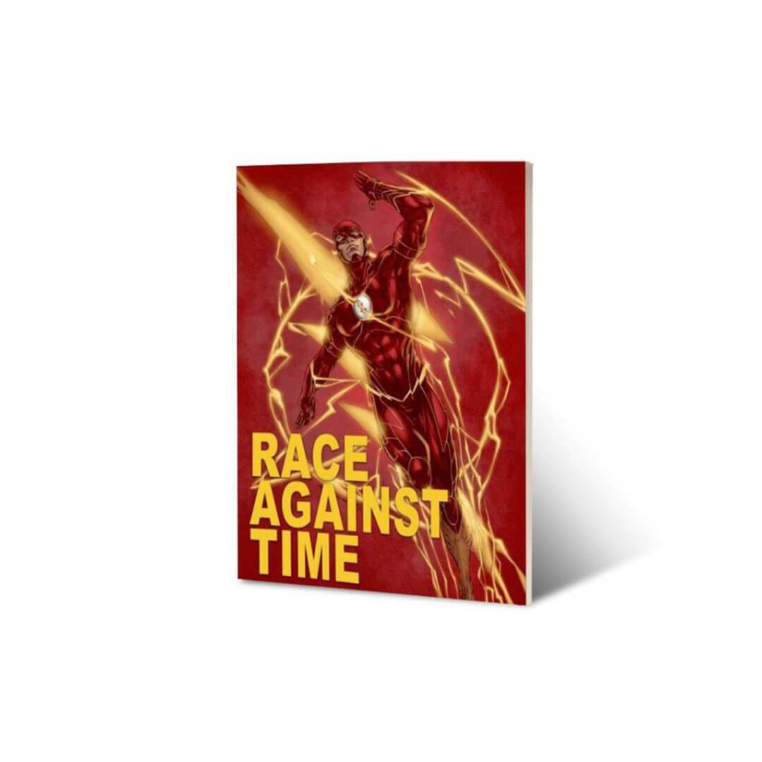 Flash Race Against Time Notebook by EFG -EFG - India - www.superherotoystore.com