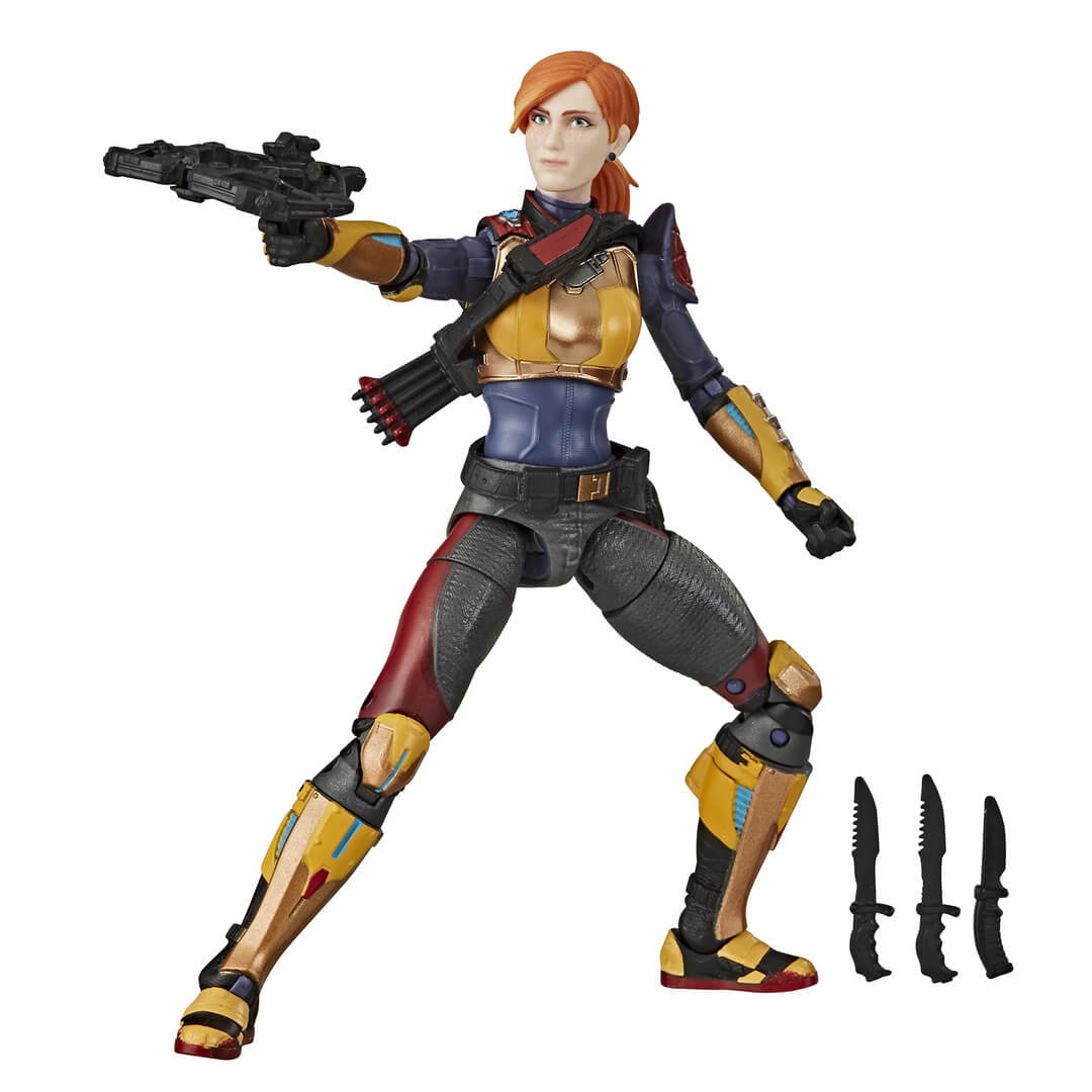 GI Joe Classified Series Scarlett Action Figure by Hasbro -Hasbro - India - www.superherotoystore.com