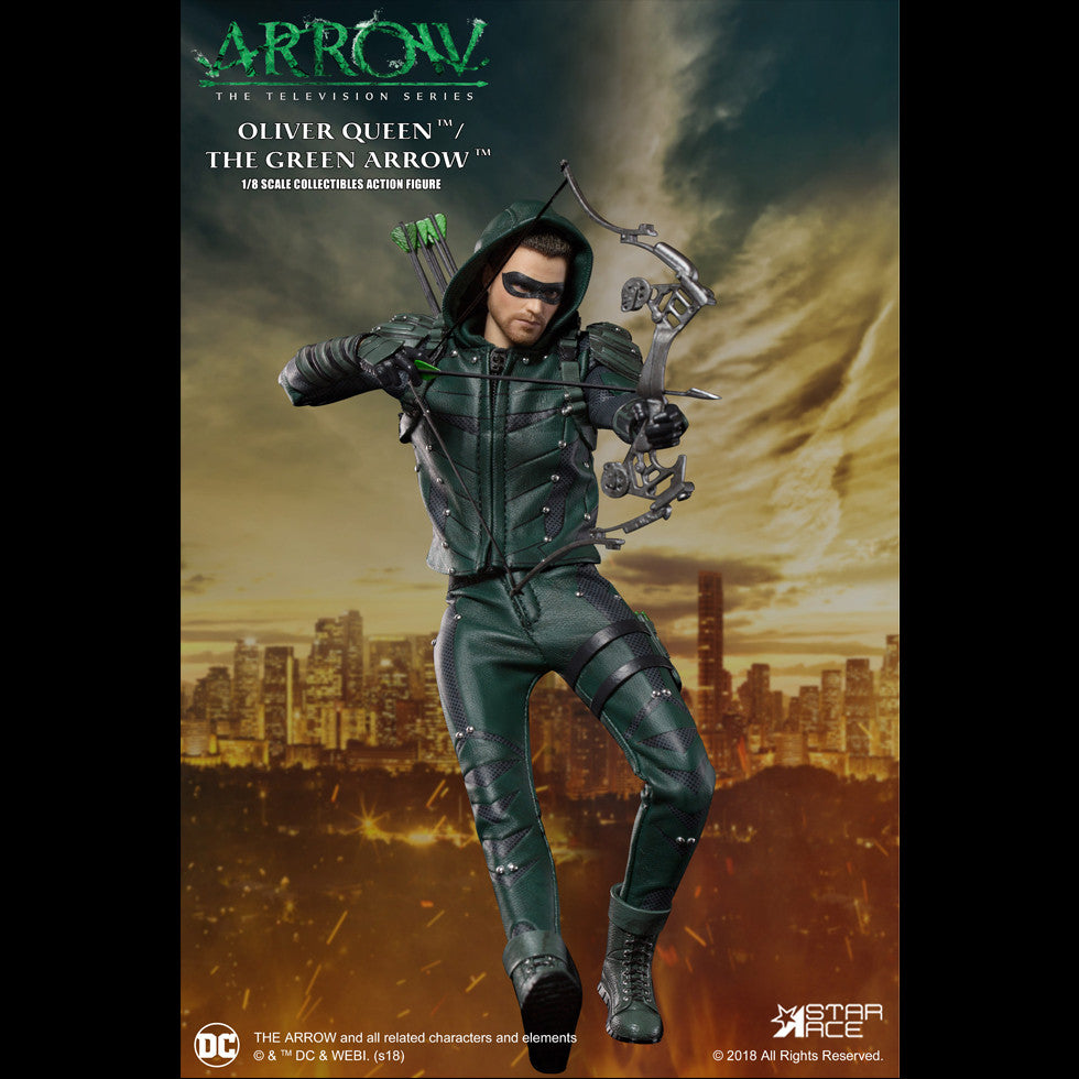 Star Ace Collectibles DC Arrow TV Series 1//8 Scale Figure New Green Arrow