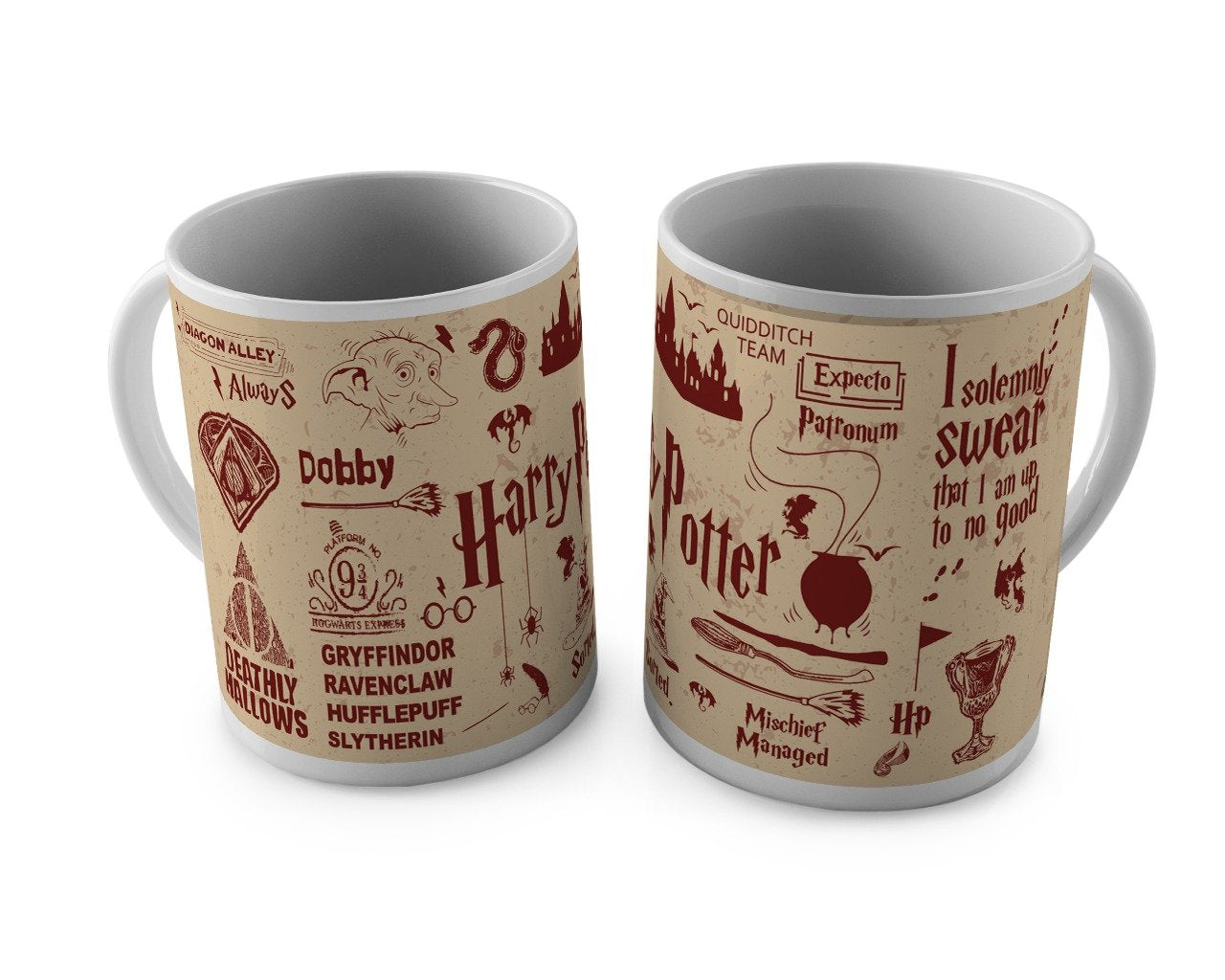 Harry Potter Icons Mug