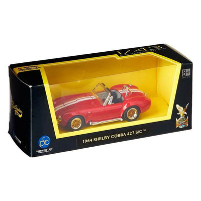 1964 Shelby Cobra 427 S/C Red 1:43 Diecast Car by Lucky Die Cast (LDC) -Lucky Die-Cast - India - www.superherotoystore.com