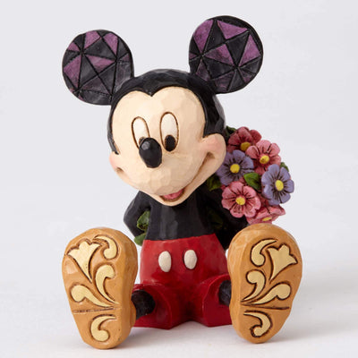 Disney Mickey With Flowers Figure by Enesco -Enesco - India - www.superherotoystore.com