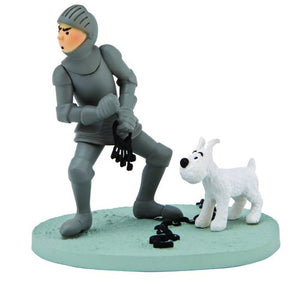 Tintin in Armor Box Scene-Moulinsart- www.superherotoystore.com-Action Figure