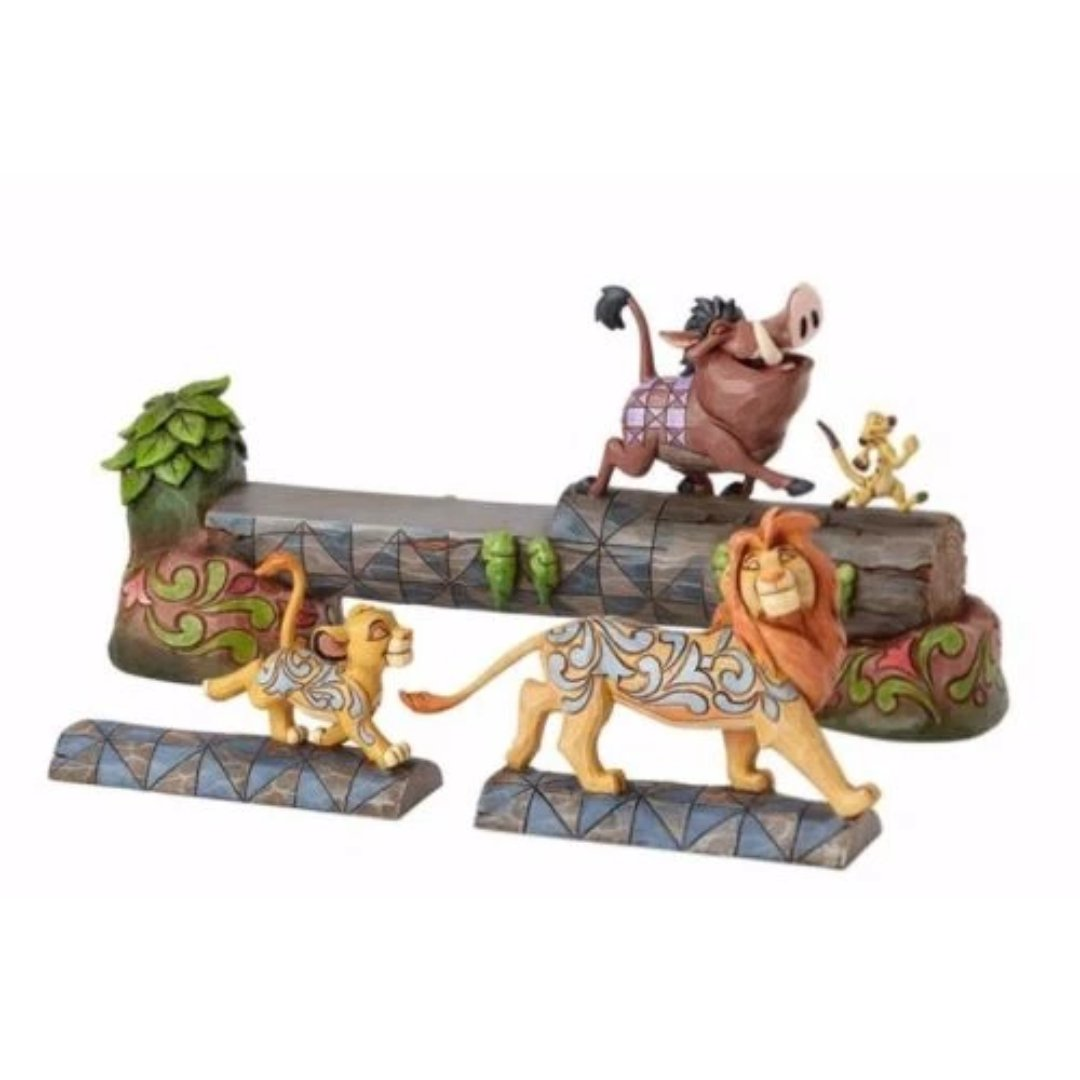 Disney Lion King Simba, Timon & Pumbaa Figure by Enesco -Enesco - India - www.superherotoystore.com