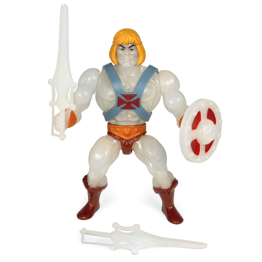 Masters of the Universe He-Man Glow in the Dark Figure by Super7