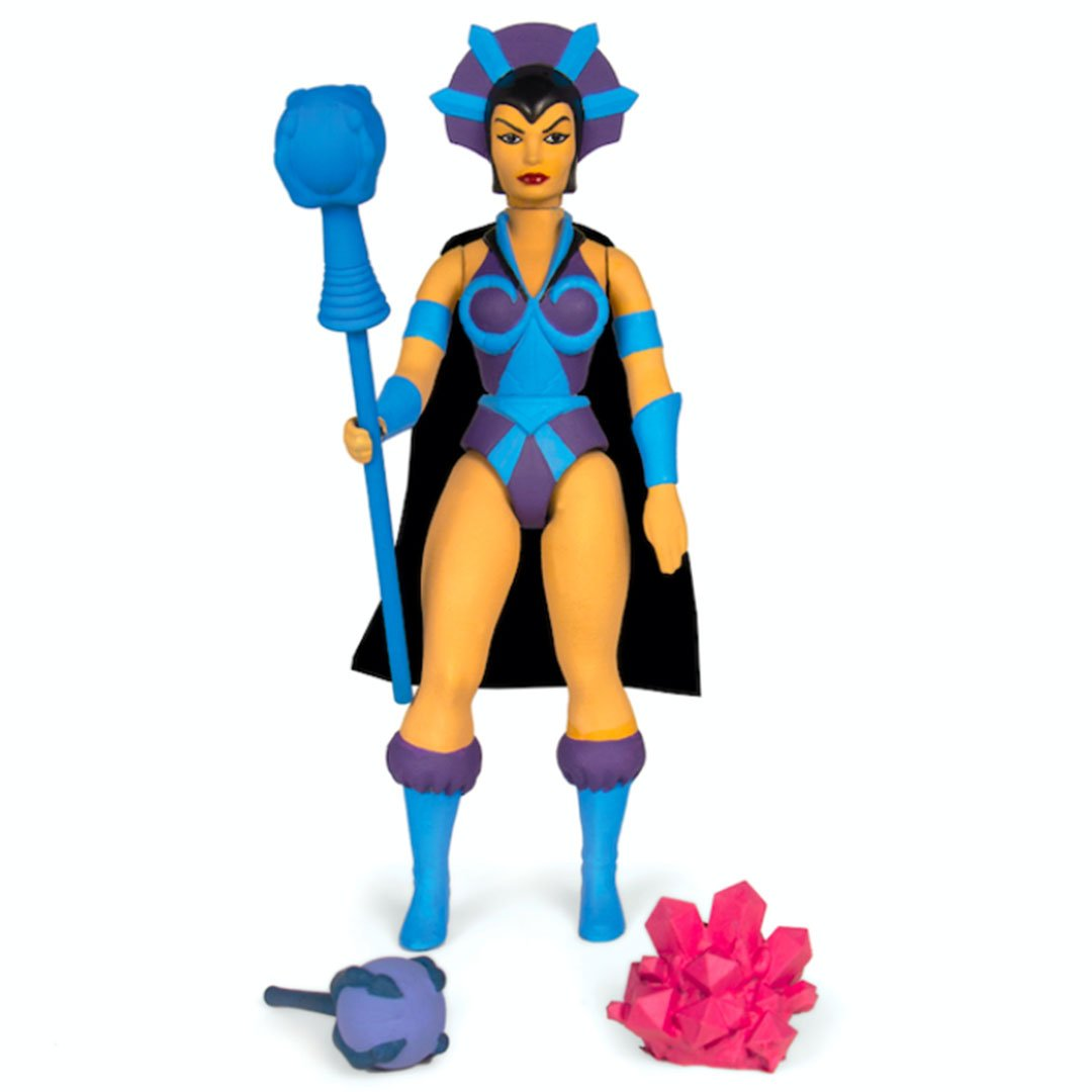 Masters of the Universe Vintage Wave 4 Evil-Lyn Figure by Super7