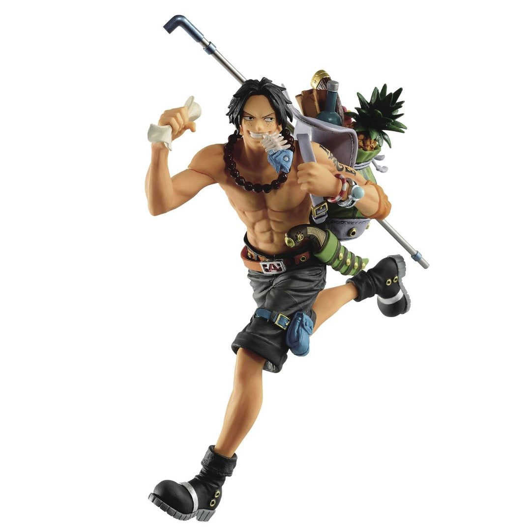 One Piece Portgas.D.Ace Three Brothers Statue-ReRun by Banpresto