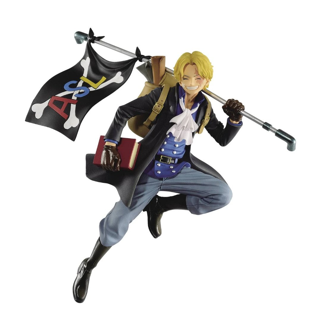 One Piece Sabo Three Brothers Statue-ReRun by Banpresto