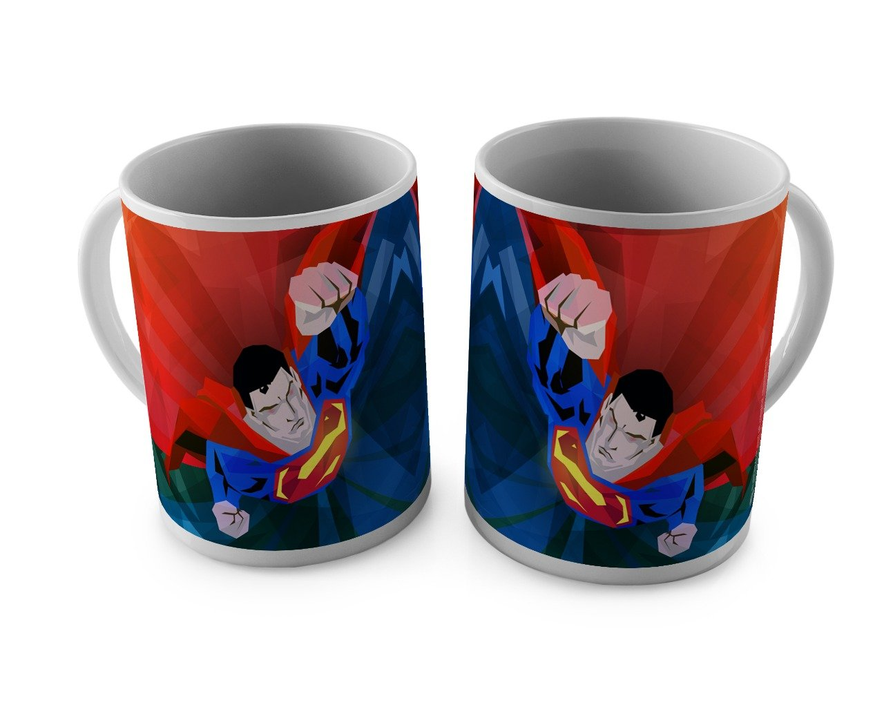 DC Comics Superman Red Mug