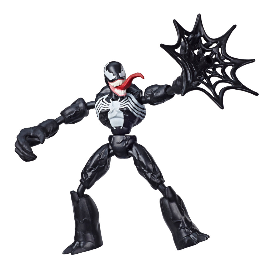 Marvel Spider-Man Bend and Flex Venom Figure by Hasbro -Hasbro - India - www.superherotoystore.com