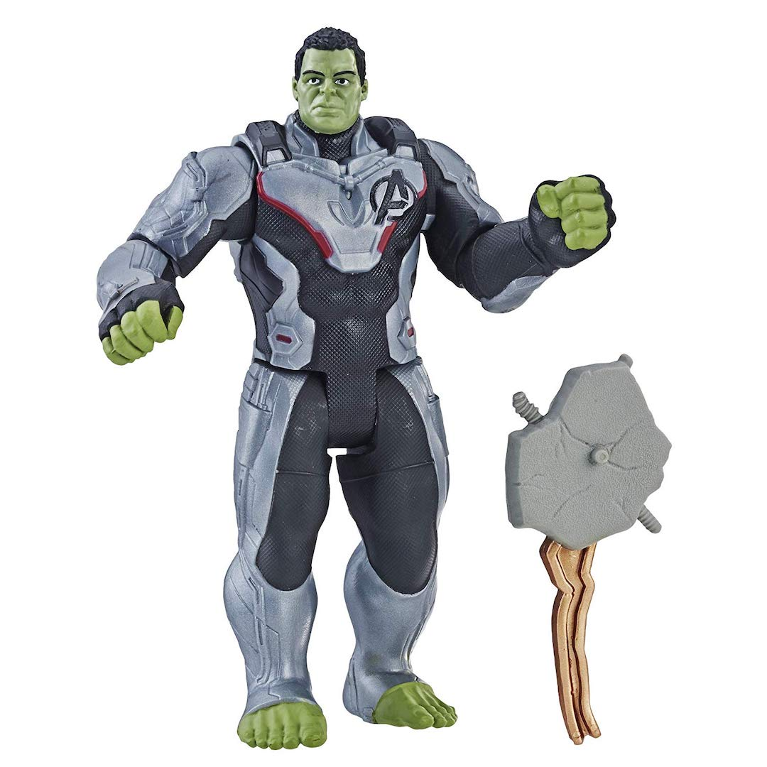 Avengers Endgame 6-Inch Suit Up Hulk Figure by Hasbro