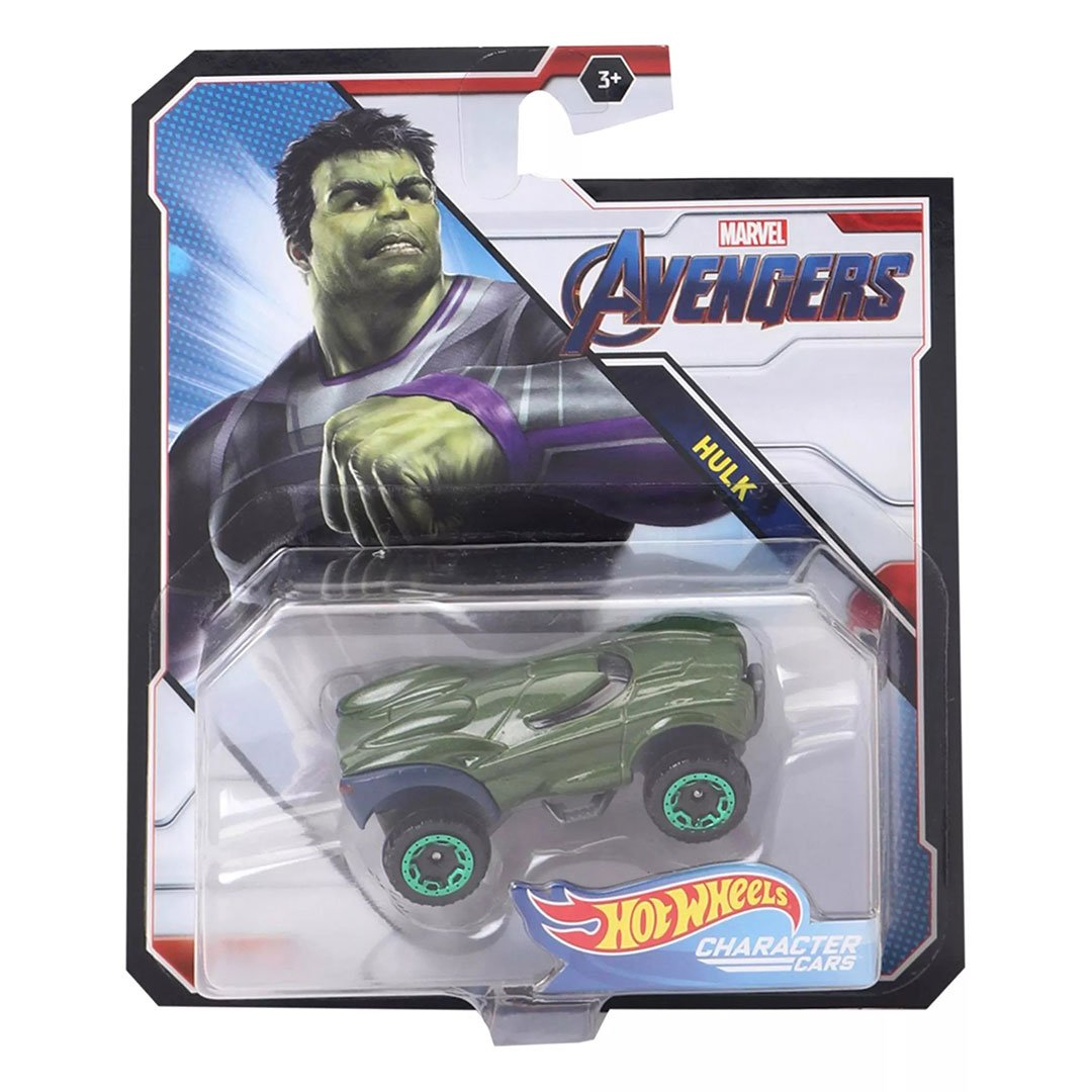 Avengers Hulk 1:64 Scale Die-Cast Car by Hot Wheels