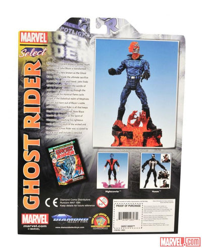 Marvel Select Ghost Rider-Diamond Select toys- www.superherotoystore.com-Action Figure - 8