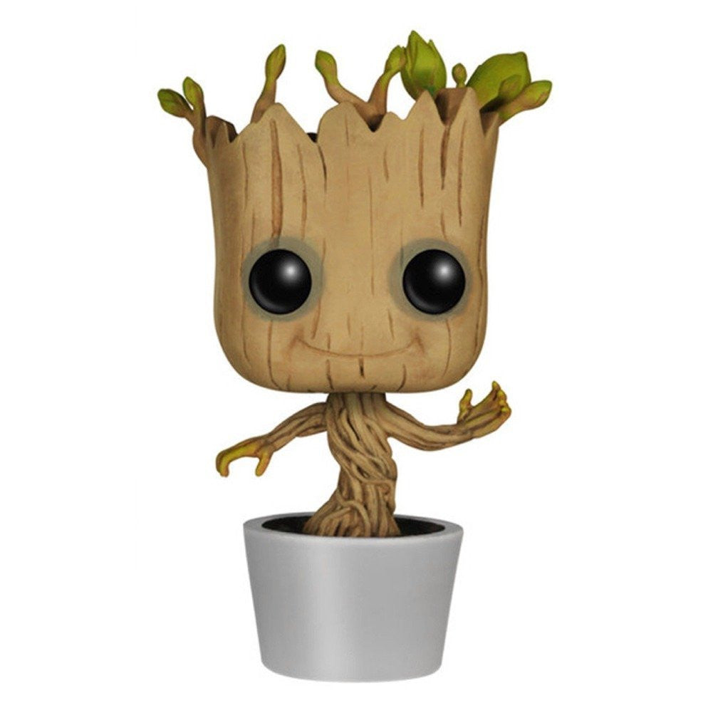 Gaurdians of the Galaxy: Dancing Groot Pop! by Funko-Funko- www.superherotoystore.com-Bobble Heads - 1