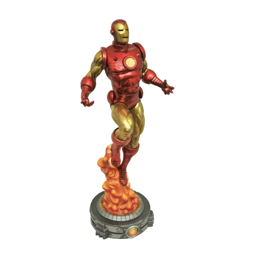 Marvel Comics Classic Iron Man Figure by Diamond Select Toys -Diamond Select toys - India - www.superherotoystore.com