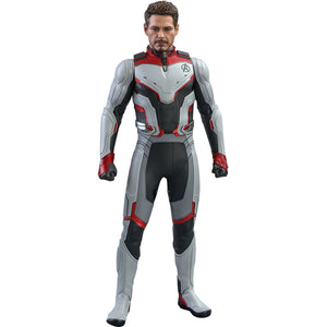 Avengers Endgame Tony Stark Team Suit Sixth Scale Figure by Hot Toys