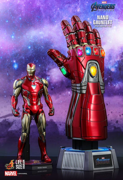 Avengers Endgame Nano Gauntlet Life Size Collectible Figure by Hot Toys