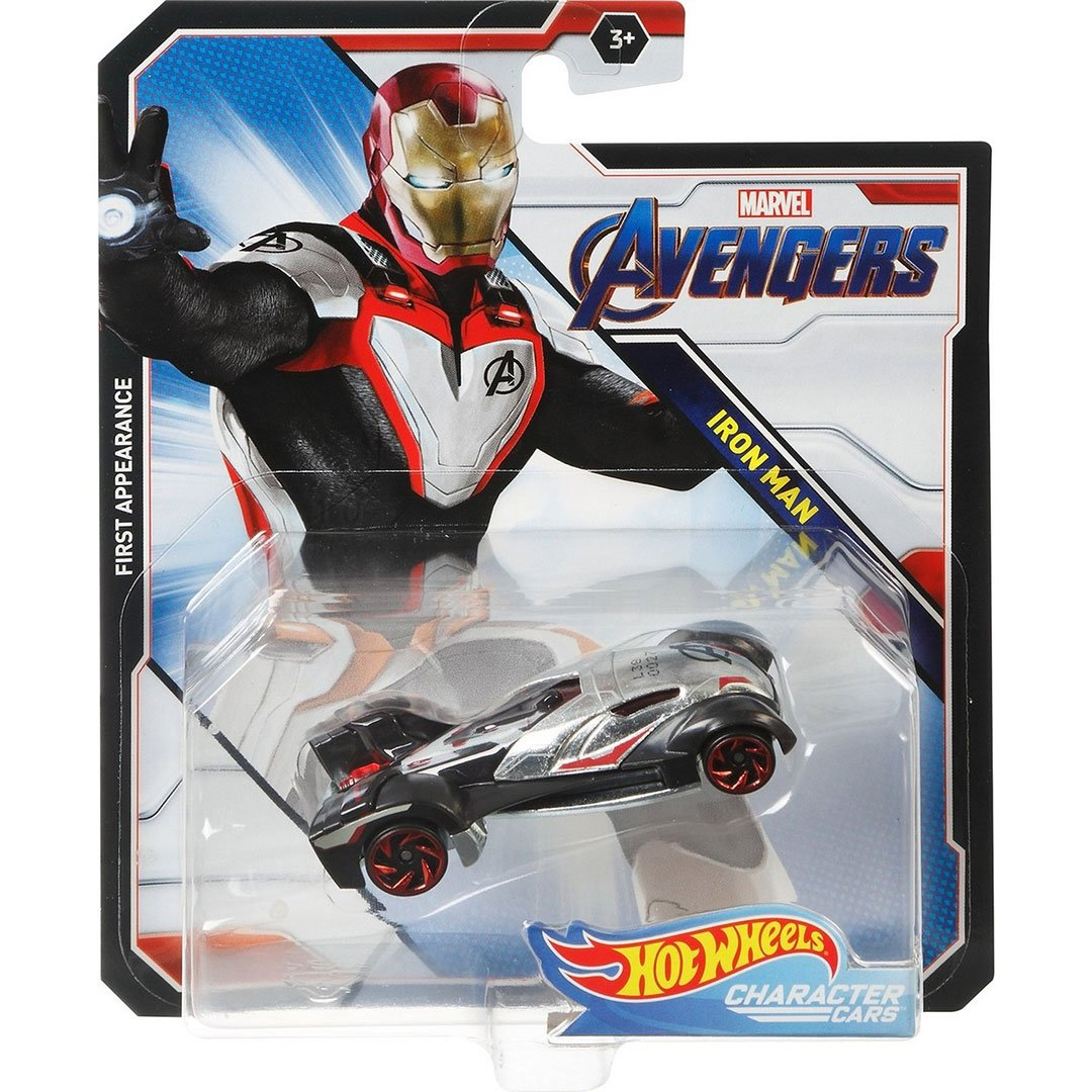 Avengers Iron Man 1:64 Scale Die-Cast Car by Hot Wheels