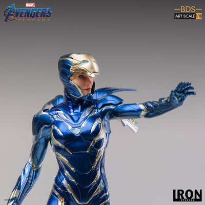Avengers Endgame Pepper Potts in Rescue Suit 1:10th Scale Statue by Iron Studios