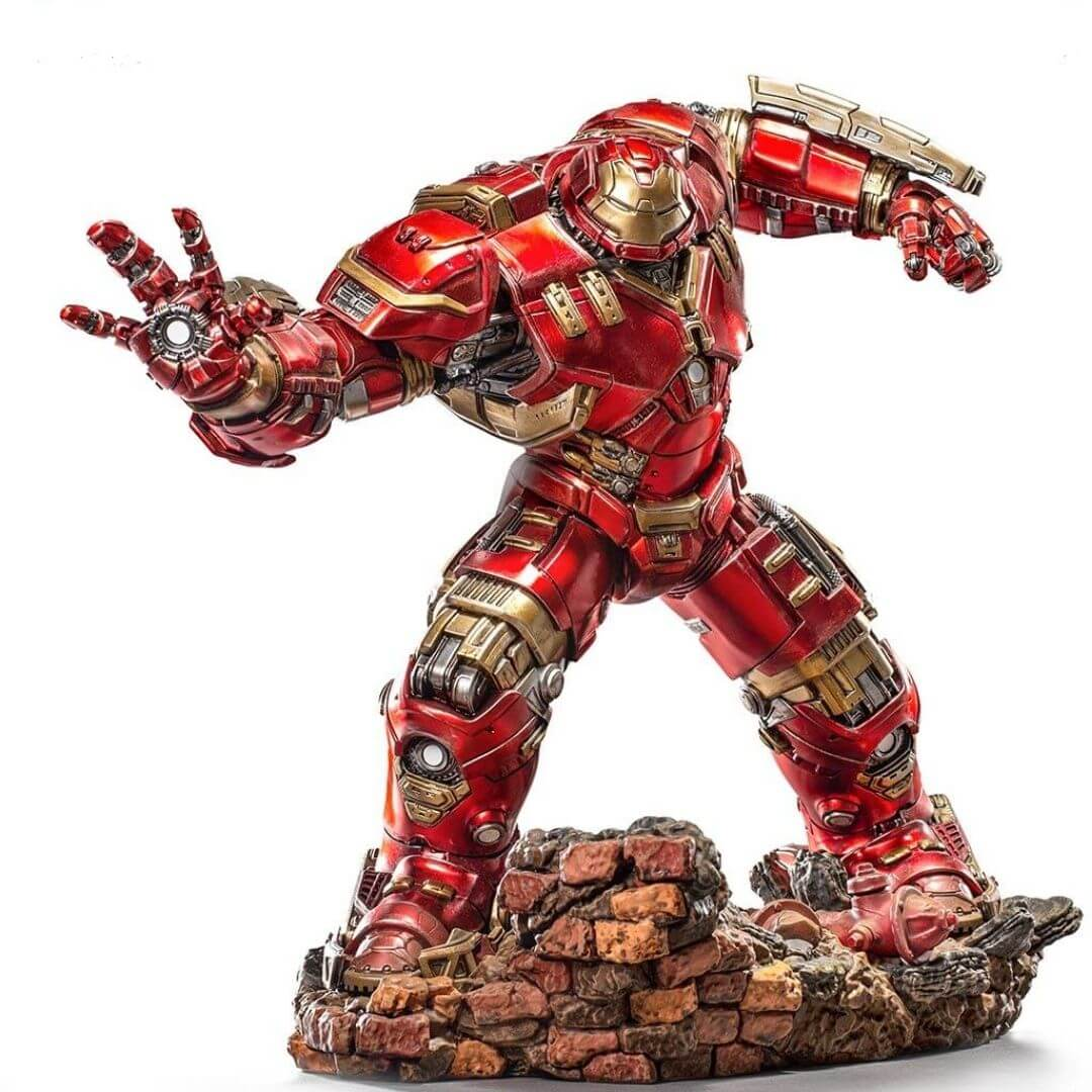 Avengers Age of Ultron Hulkbuster 1:10th Scale Battle Diorama Statue by Iron Studios -Iron Studios - India - www.superherotoystore.com