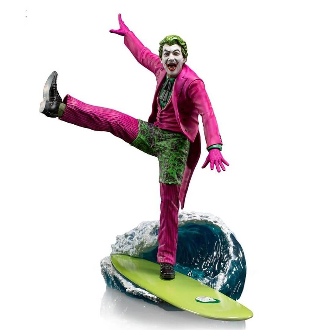 Batman 1966 TV Series Joker 1:10th Scale Statue by Iron Studios -Iron Studios - India - www.superherotoystore.com