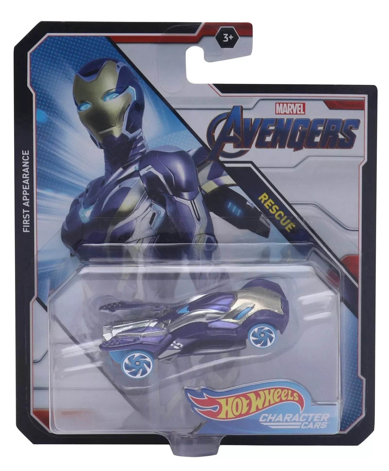 Avengers Rescue 1:64 Scale Die-Cast Car by Hot Wheels