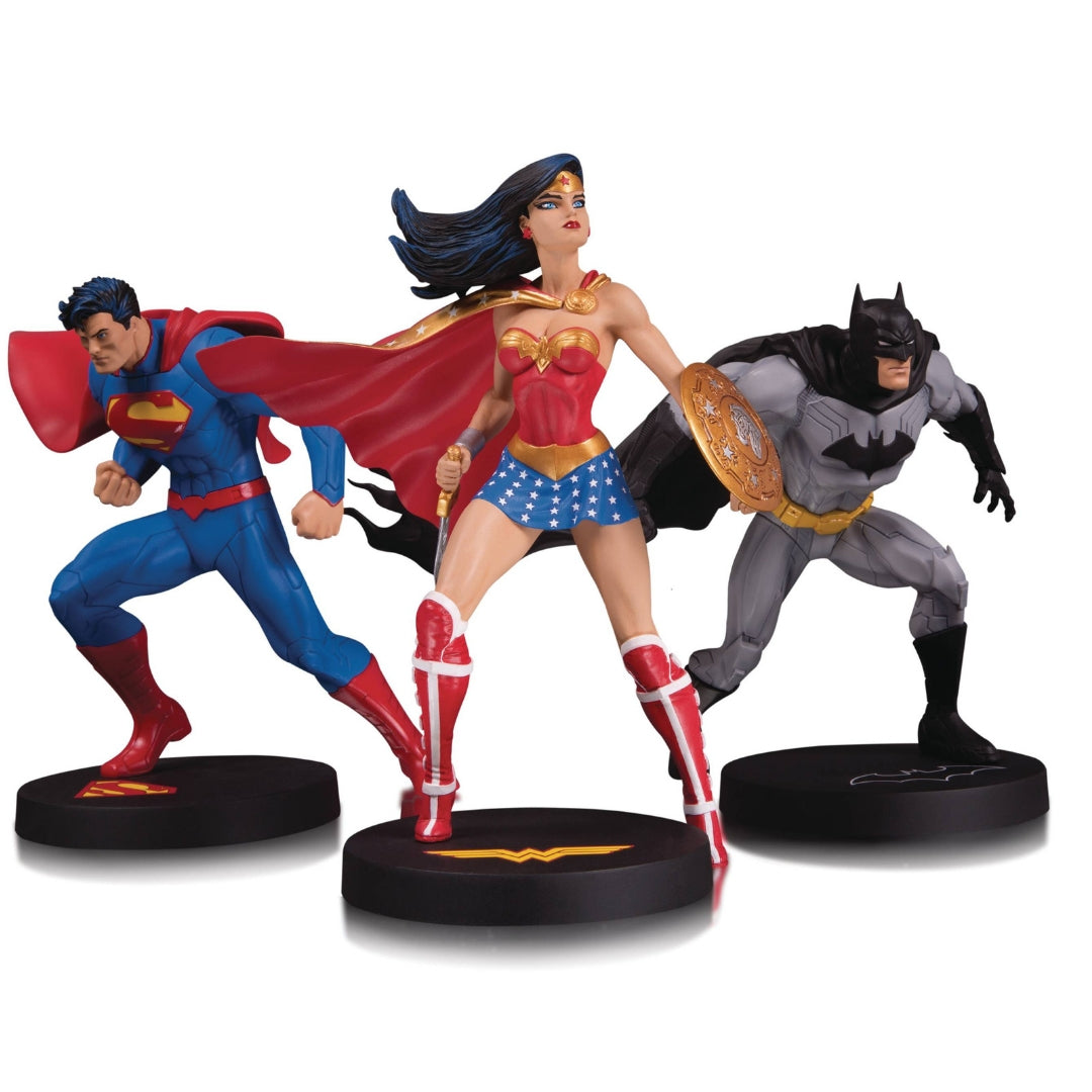 DC Designer Series Superman, Wonder Woman & Batman 3-Pack by DC Collectibles