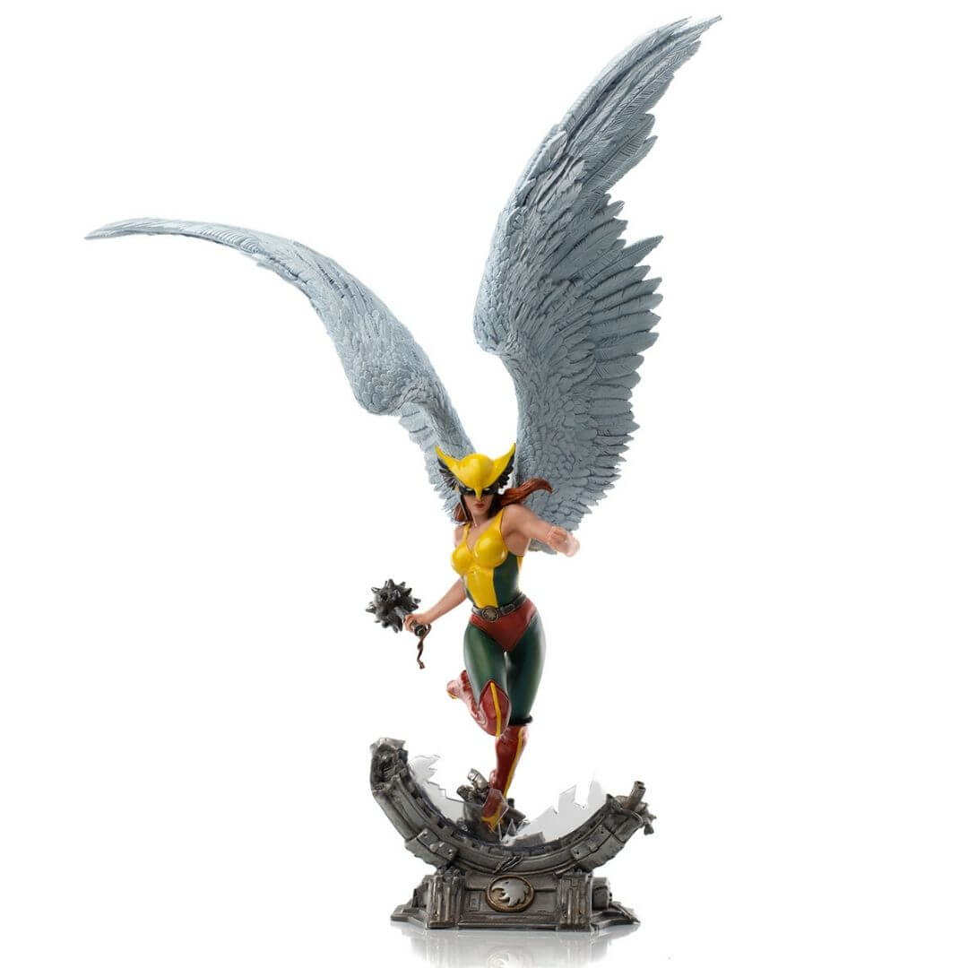 DC Comics Hawkgirl Deluxe 1/10th Scale Statue by Iron Studios -Iron Studios - India - www.superherotoystore.com