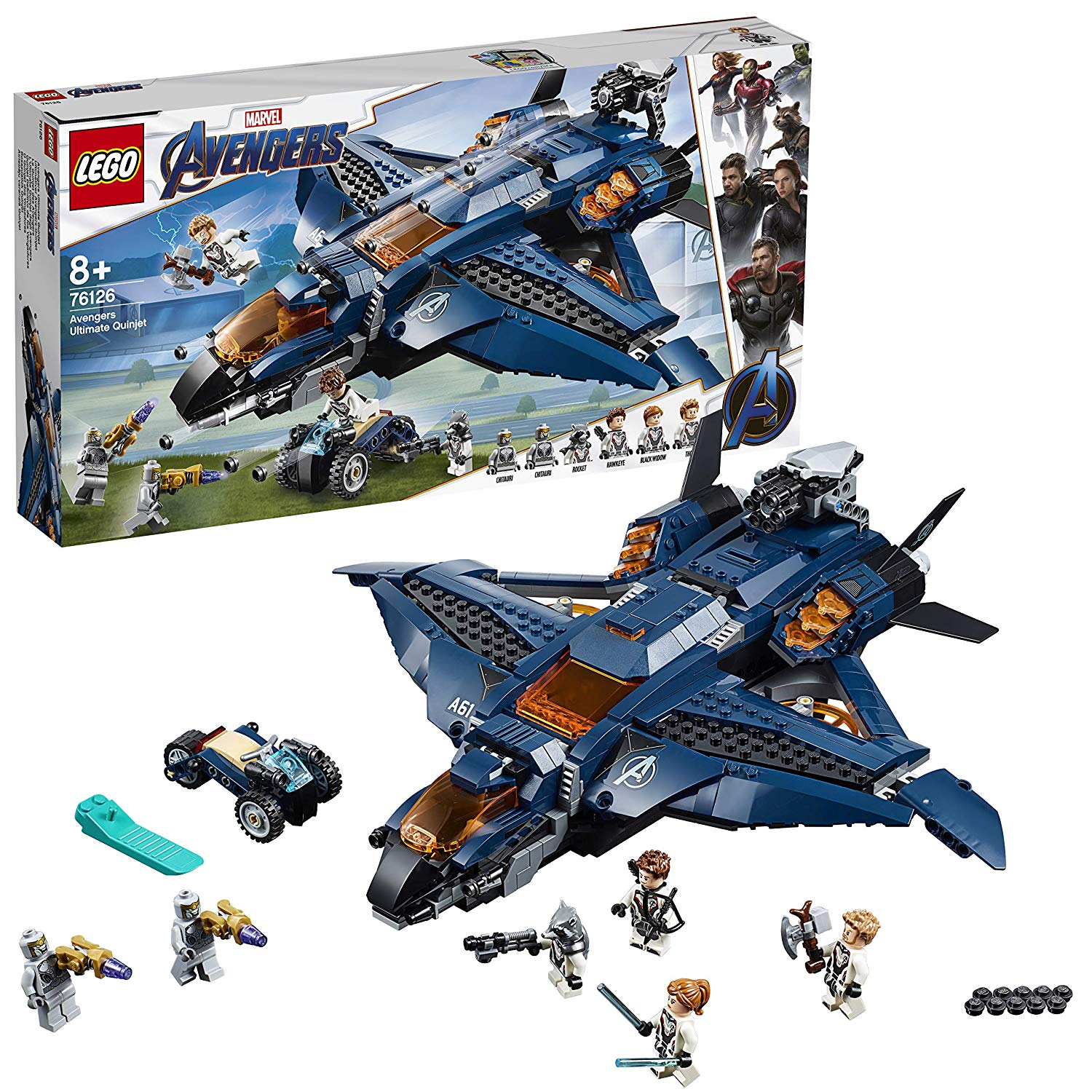 Avengers Endgame Ultimate Quinjet by Lego