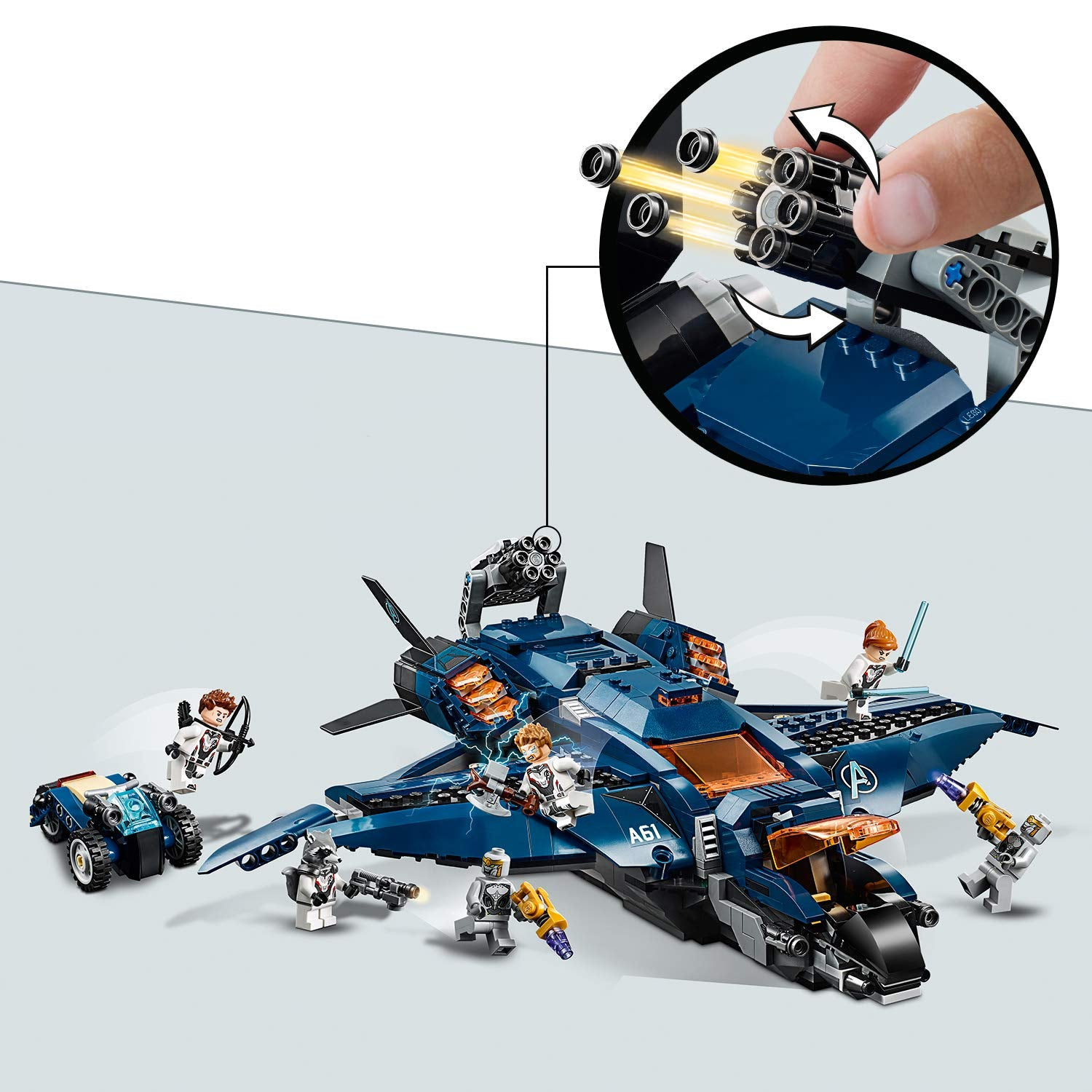 Avengers Endgame Ultimate Quinjet By Lego Shop Now