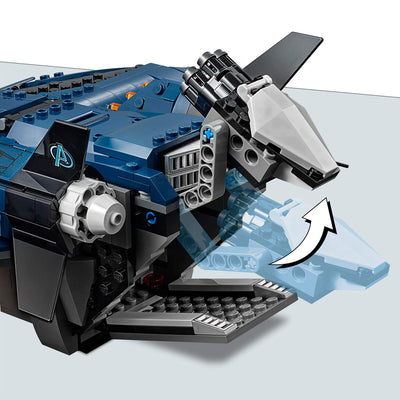 Avengers Endgame Ultimate Quinjet by Lego -Lego - India - www.superherotoystore.com