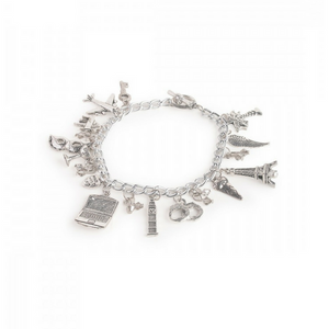 50 Shades Of Grey Charm Bracelet