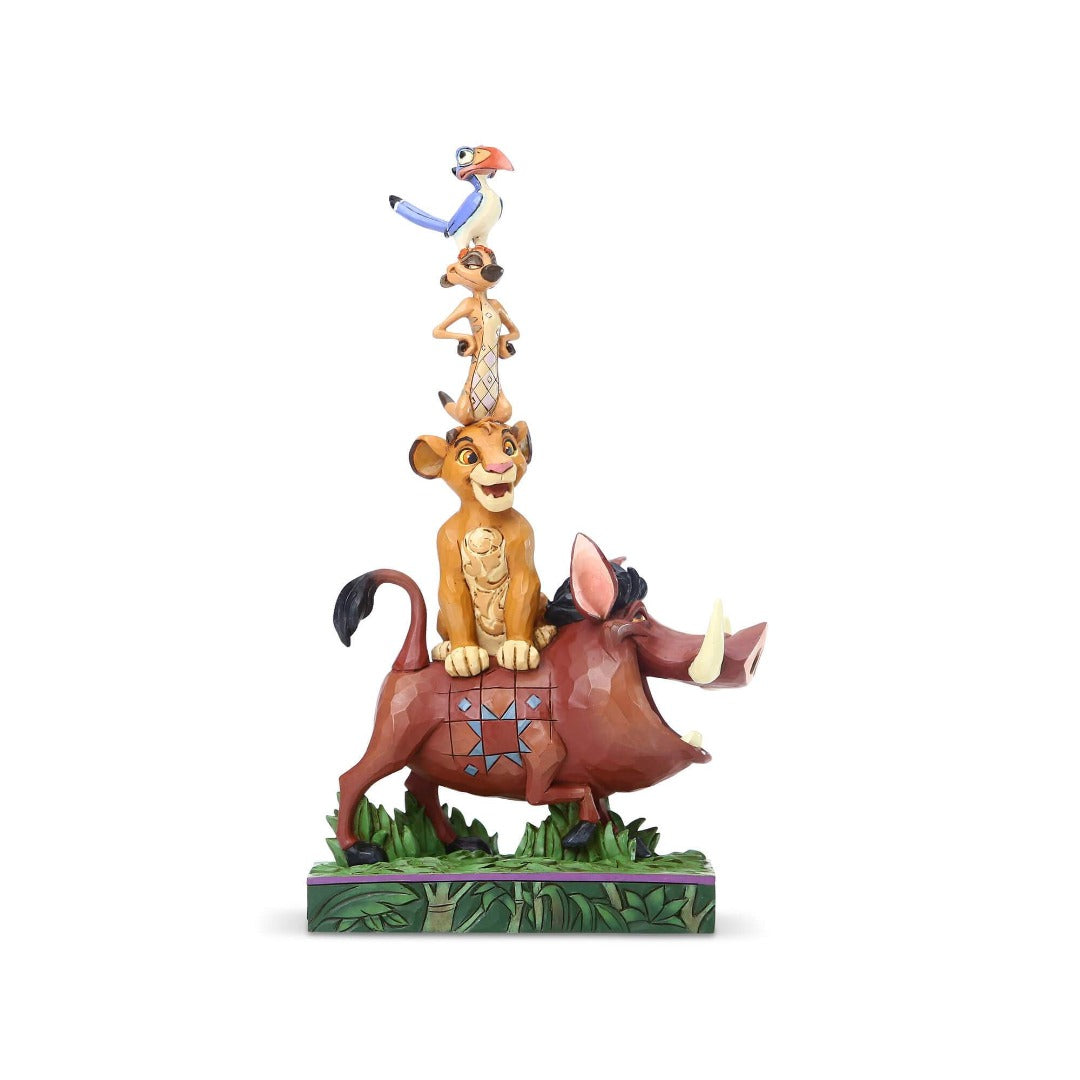 Lion King Pumba, Simba, Timon and Zazu Figure by Enesco -Enesco - India - www.superherotoystore.com