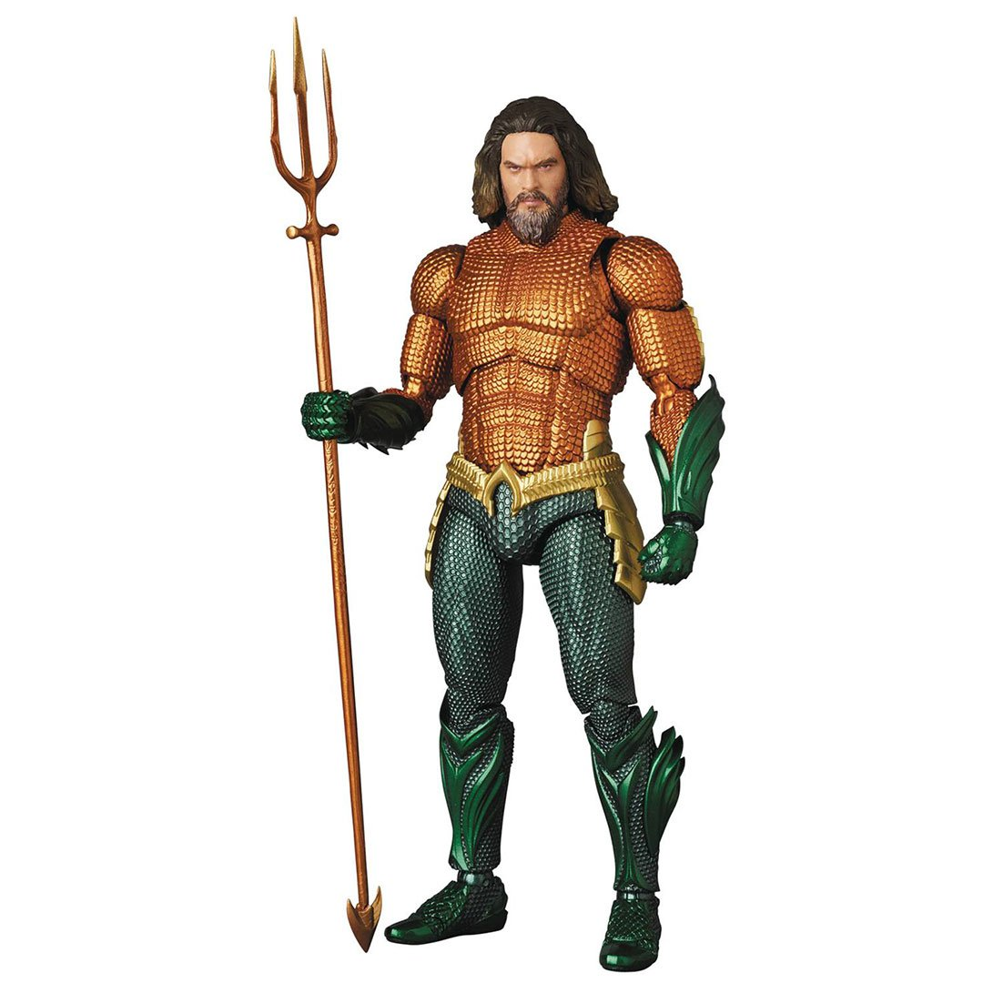 Aquaman Movie Aquaman Mafex Figure by Medicom Toy Corporation