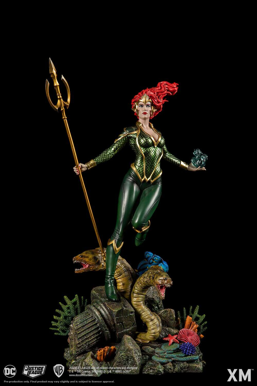 DC Comics Rebirth Mera 1:6th Scale Statue by XM Studios -XM Studios - India - www.superherotoystore.com