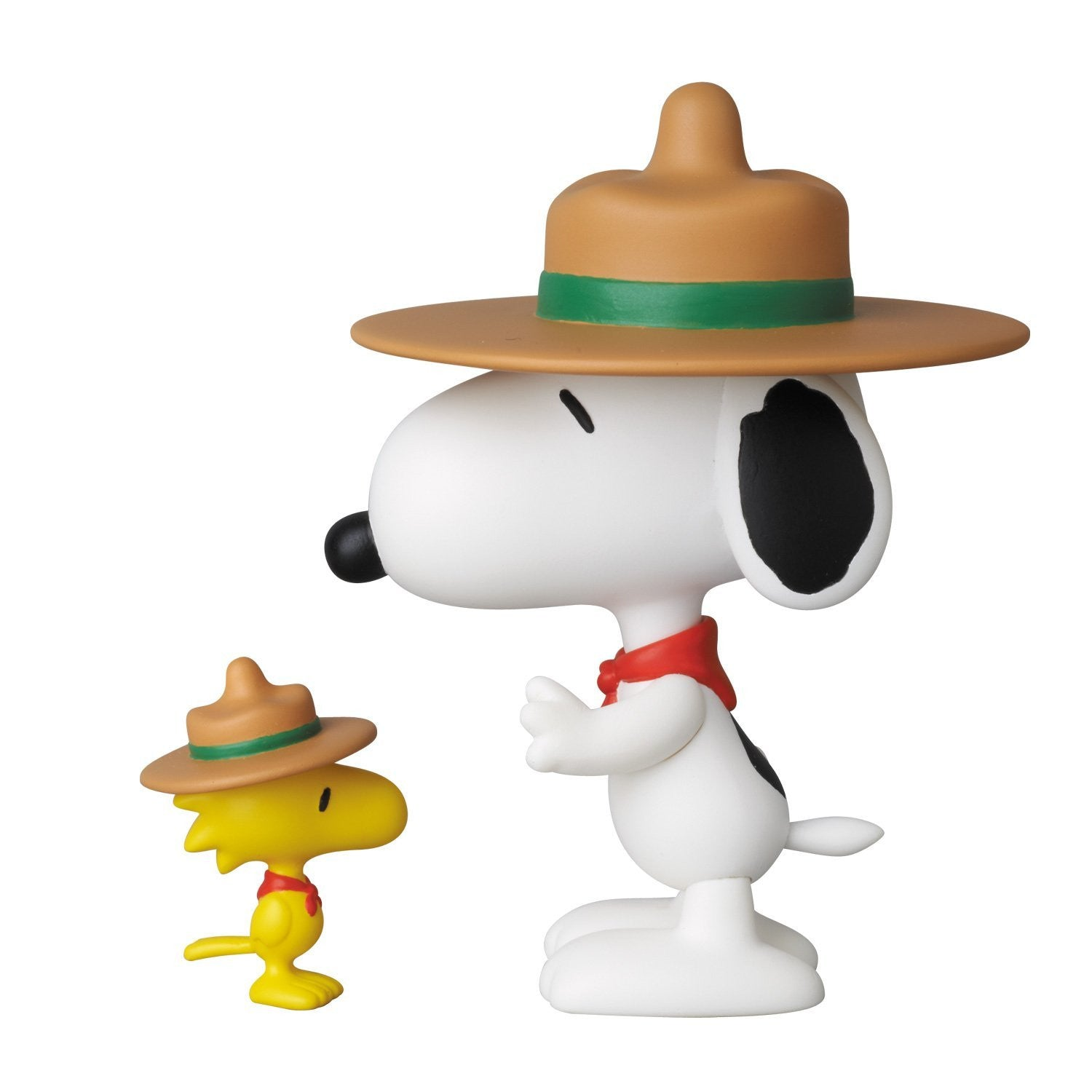 Beagle Scouts Snoopy and Woodstock Ultra Detailed Figure by Medicom Toy Corporation -Medicom - India - www.superherotoystore.com