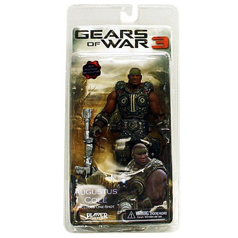 Gears of War - Augustus Cole Series 2-NECA- www.superherotoystore.com-Action Figure