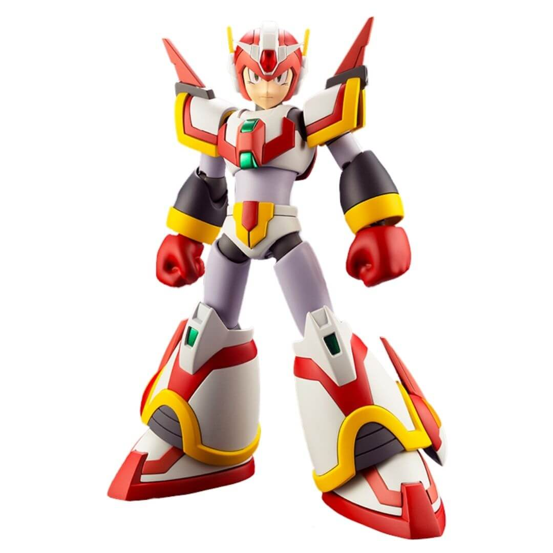 Mega Man Force Armor Rising Fire Version Figure by Kotobukiya -Kotobukiya - India - www.superherotoystore.com