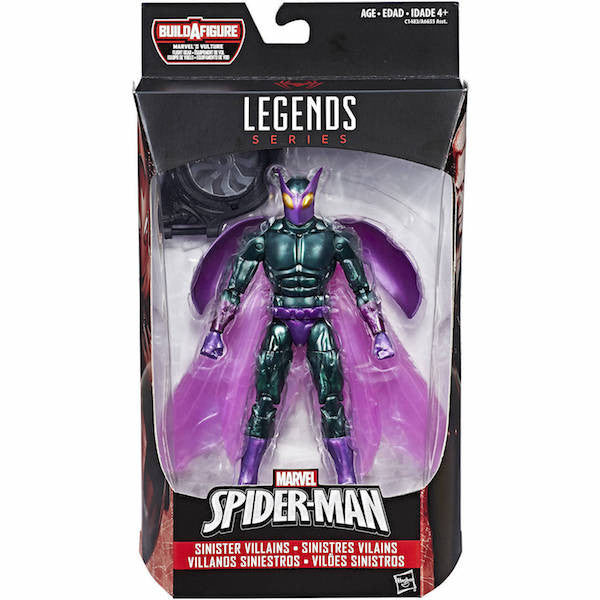 Marvel Legends: Spider-man Homecoming: Beetle Figure by Hasbro