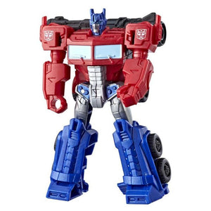 Transformers Cyberverse Optimus Prime Stingshot Figure by Hasbro