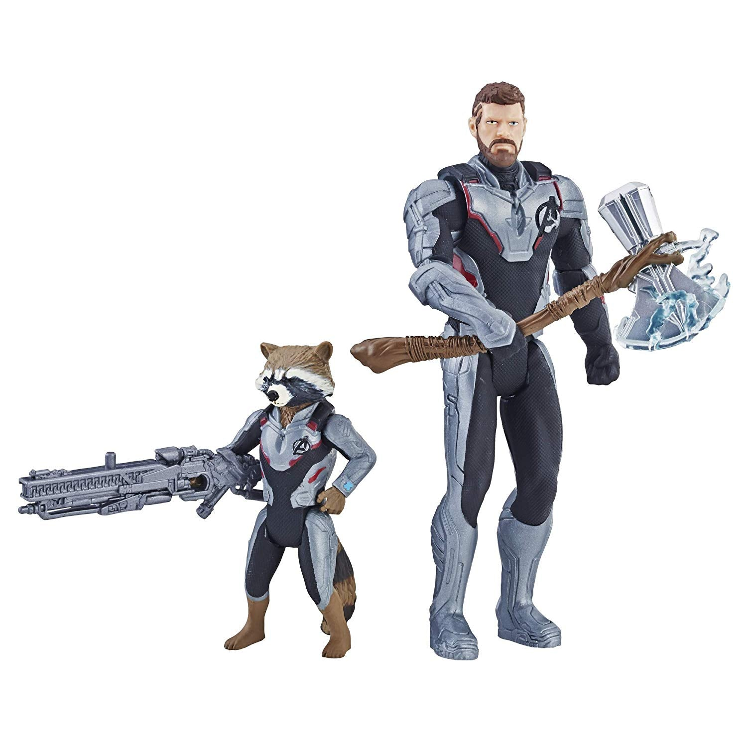 Avengers Endgame Thor & Rocket 6 inch Figures 2 Pack by Hasbro