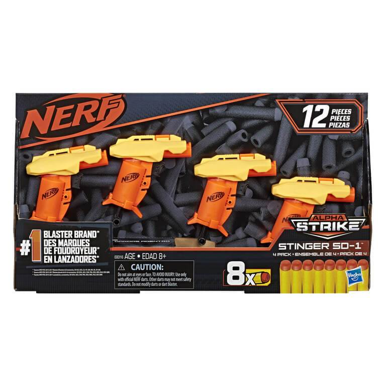 Nerf Alpha Strike Stinger SD-1 Blaster by Hasbo -Hasbro - India - www.superherotoystore.com