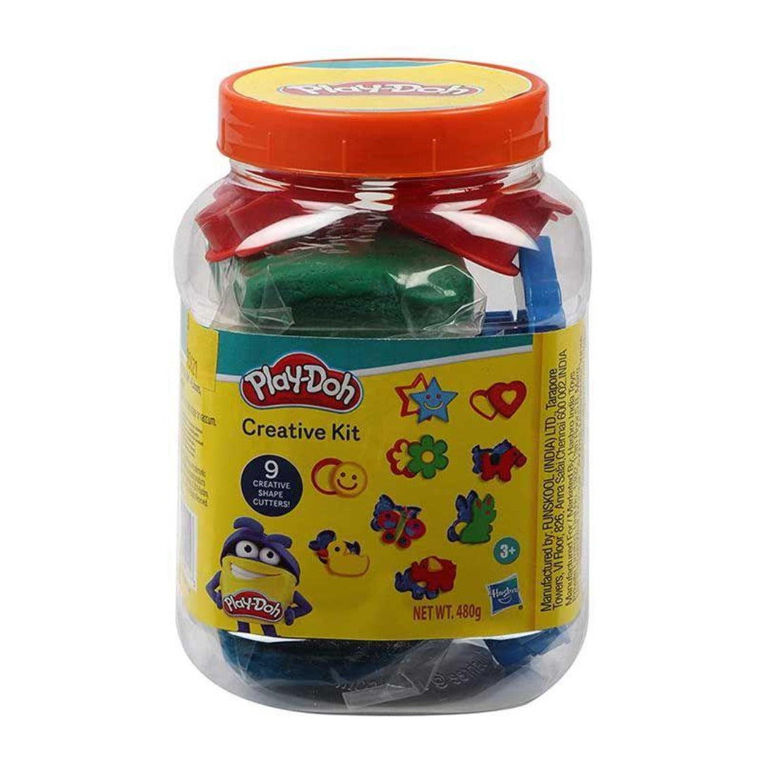 Play Doh Creative Kit in a Jar by Hasbro -Hasbro - India - www.superherotoystore.com