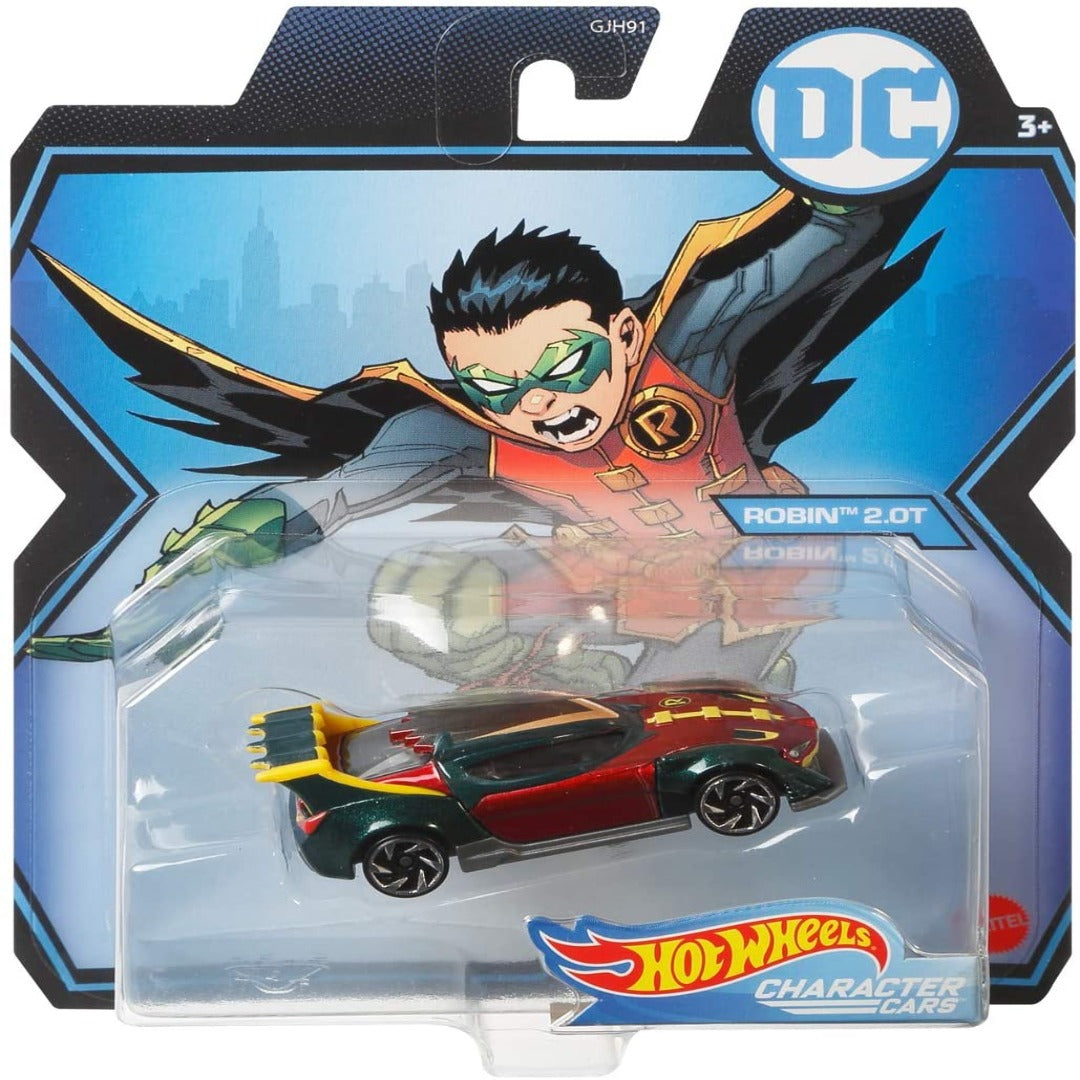 DC Comics Character Cars: Robin 2.0T 1:64 Scale Die-Cast Car by Hot Wheels -Hot Wheels - India - www.superherotoystore.com