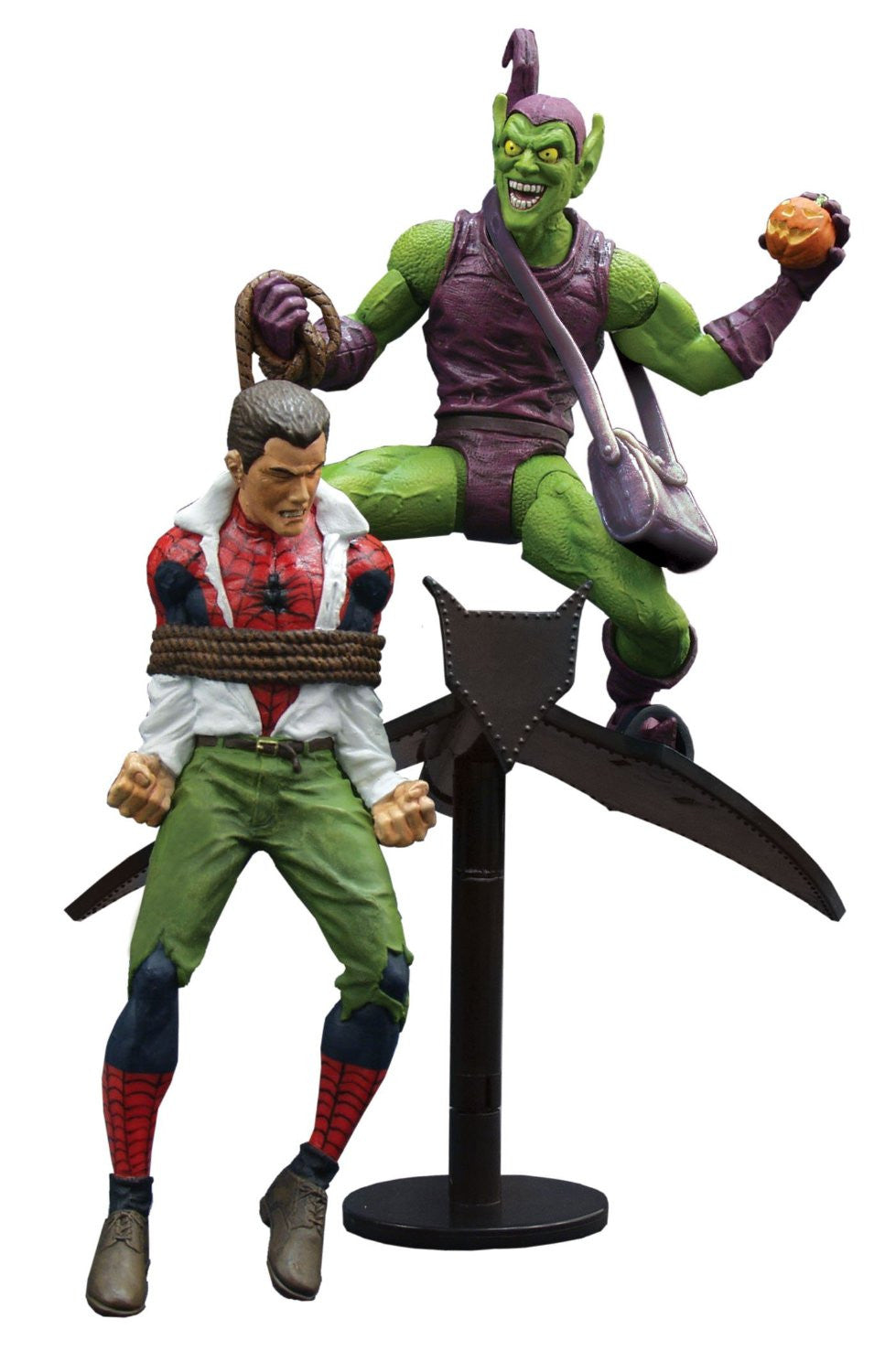 Marvel Select Classic Green Goblin vs. Spider Man Action Figure-Diamond Select toys- www.superherotoystore.com-Action Figure - 1