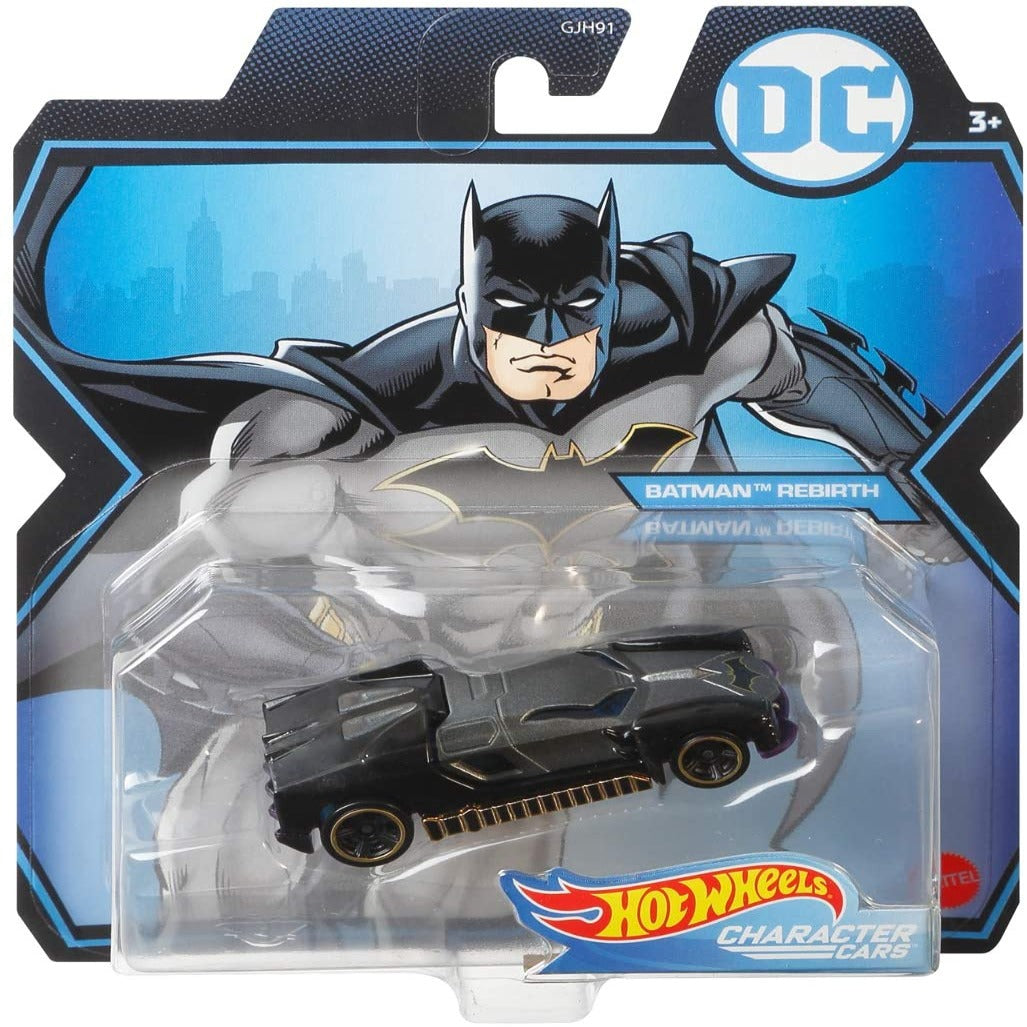 DC Comics Character Cars: Rebirth Batman 1:64 Scale Die-Cast Car by Hot Wheels -Hot Wheels - India - www.superherotoystore.com