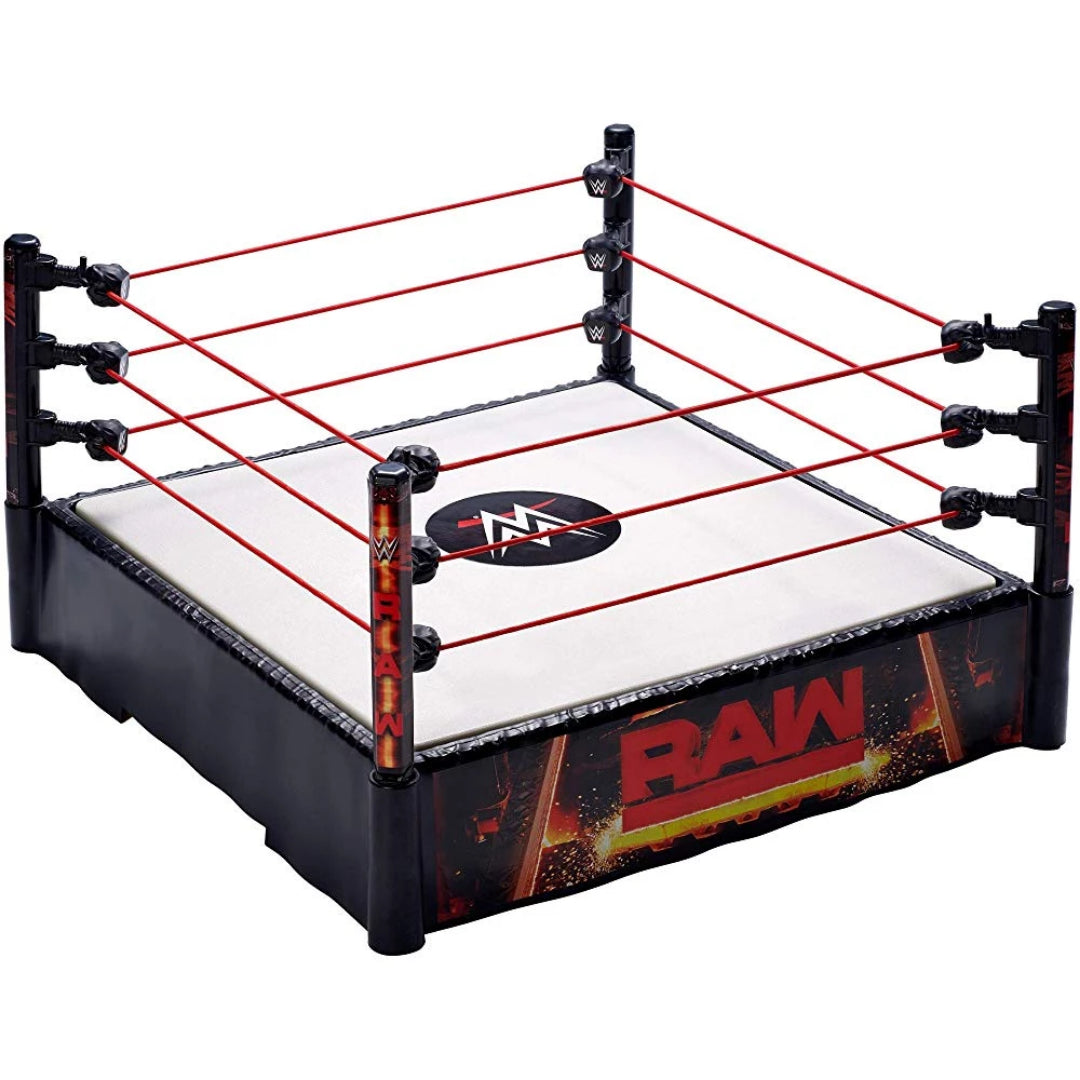 WWE RAW Ring by Mattel -Mattel - India - www.superherotoystore.com